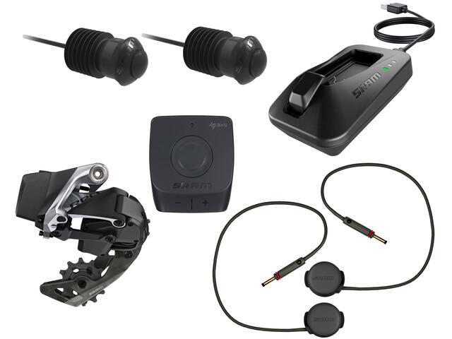 SRAM RED eTap AXS Aero D1 Kit Aero 1x12-Vel, black